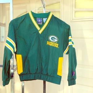 Green Bay Packers pull over sweater